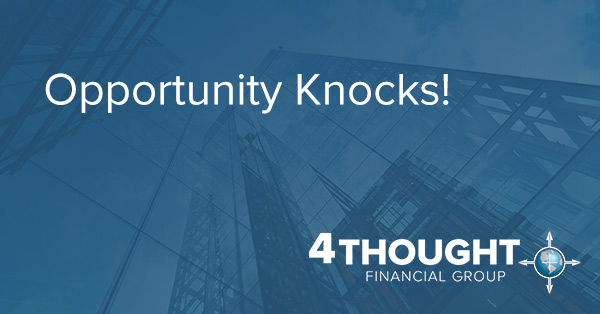 Opportunity Knocks!