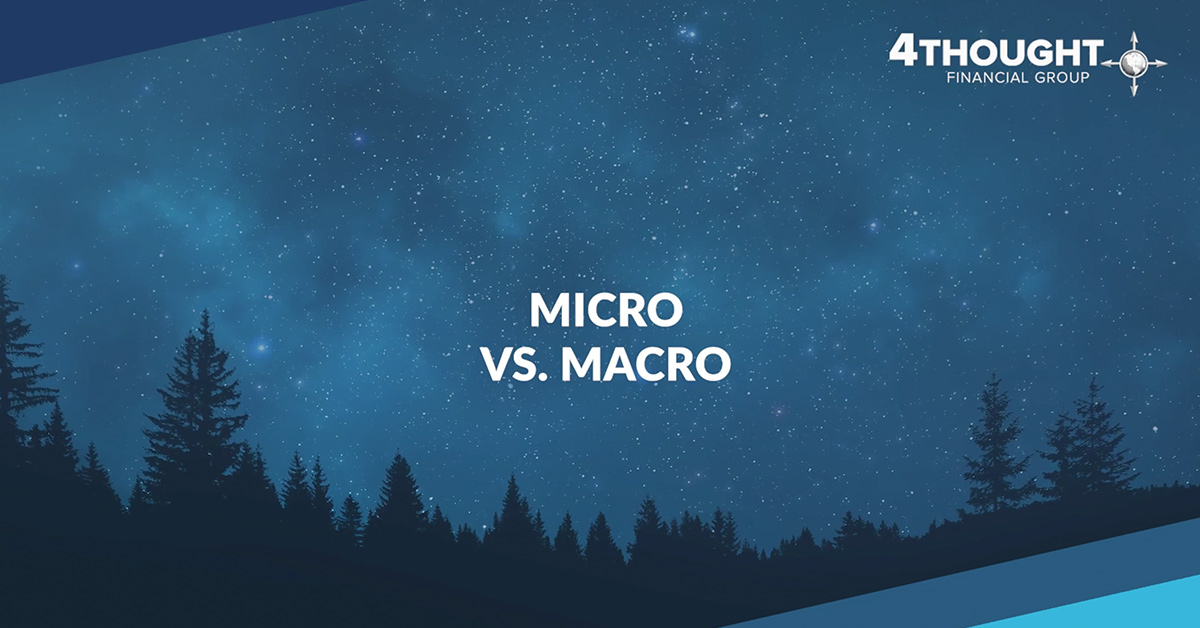Financial Planning Idea for the Day: Micro vs. Macro: Draft a Plan Before Moving Forward