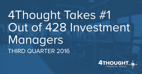 4Thought Takes #1 Out of 428 Investment Managers