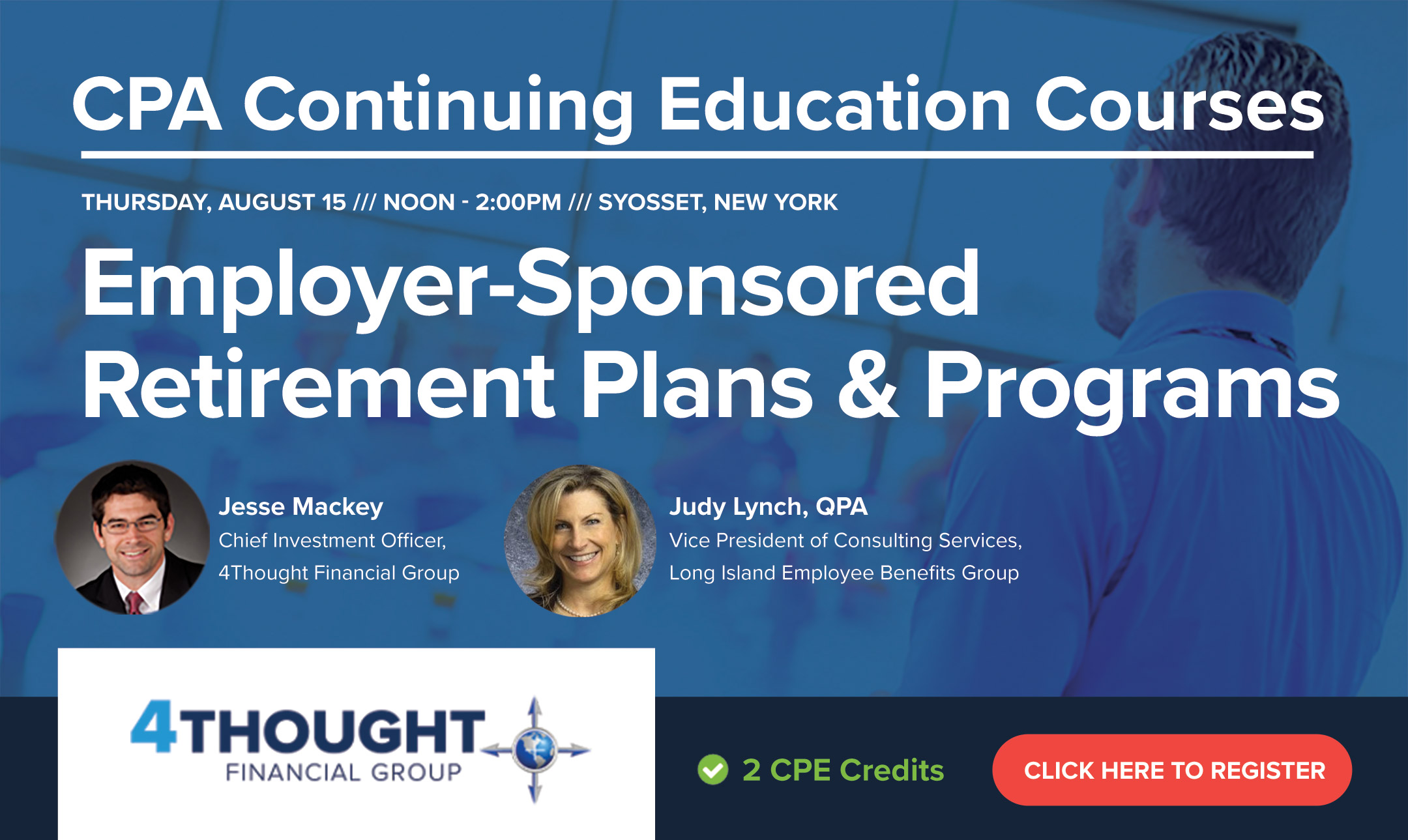 CPA Continuing Education Course: Employer-Sponsored Retirement Plans & Programs