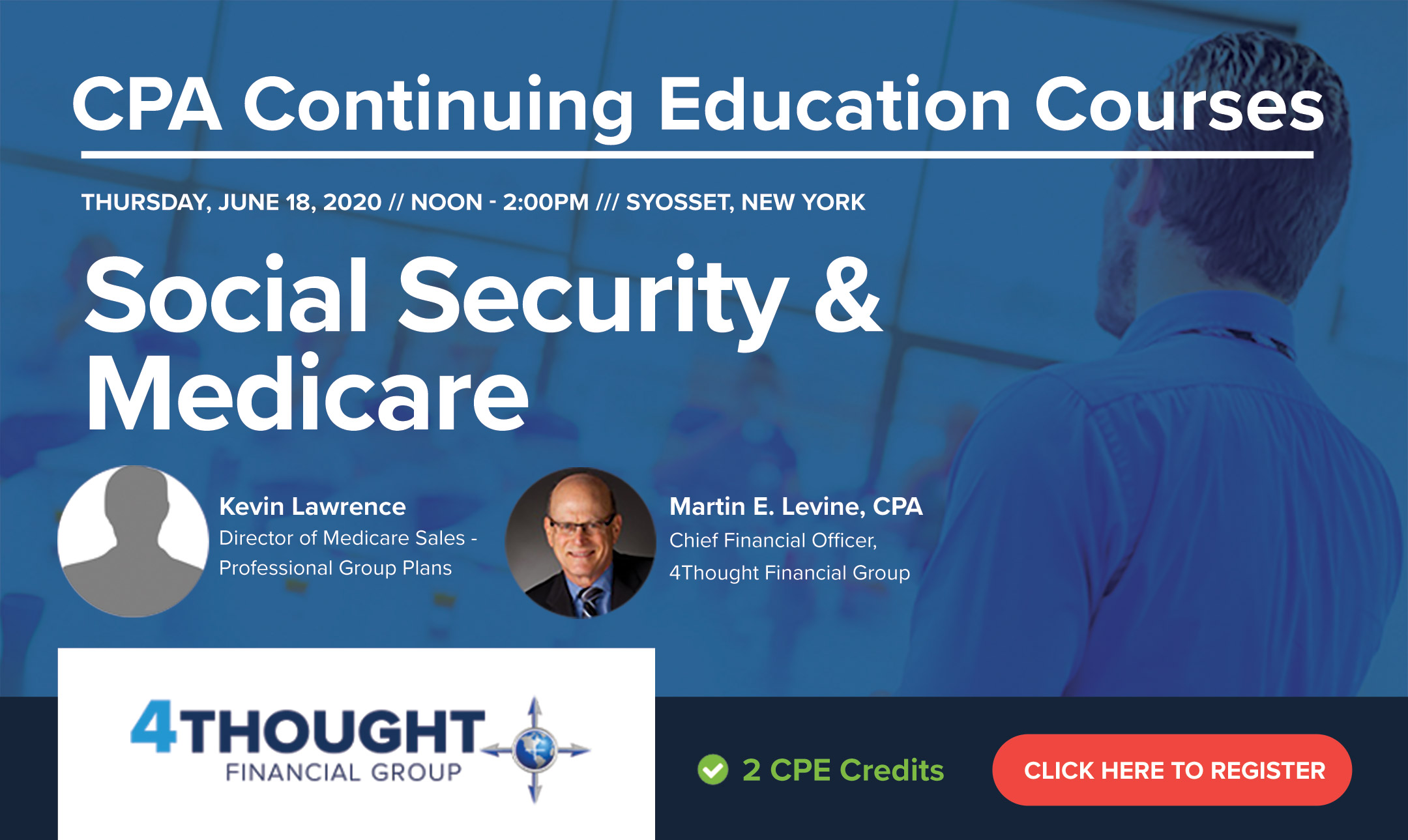 CPA Continuing Education Course:Social Security & Medicare