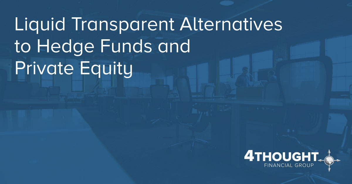 Liquid Transparent Alternatives to Hedge Funds and Private Equity