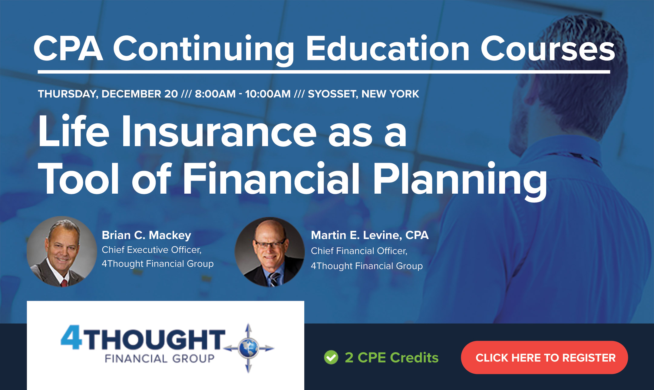 CPA Continuing Education Course: Life Insurance as a Tool of Financial Planning